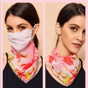 Accessories - NWT convertible face mask/scarf PRICE FIRM